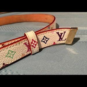 Louis Vuitton Accessories - Louis Vuitton Multicolored Belt